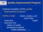 quality improvement program64