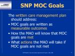 snp moc goals12