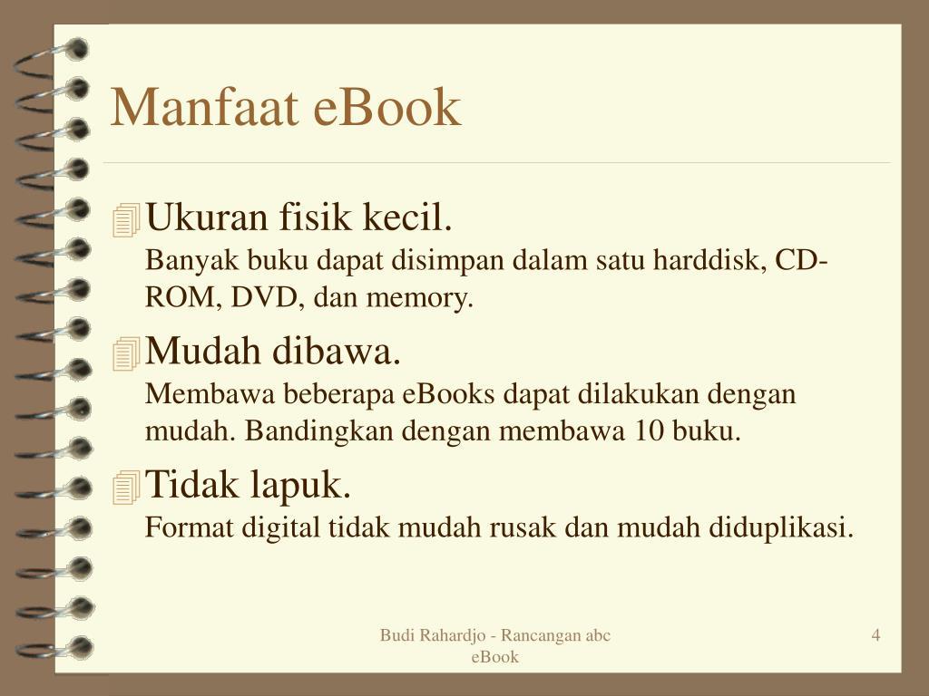Manfaat eBook