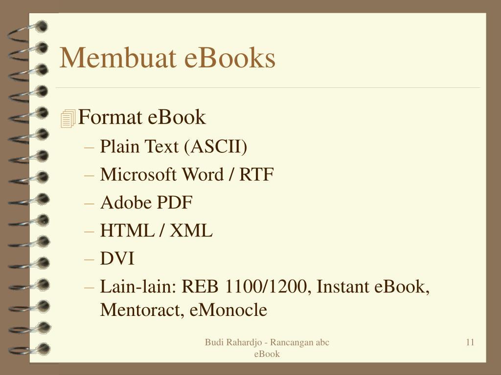 Membuat eBooks