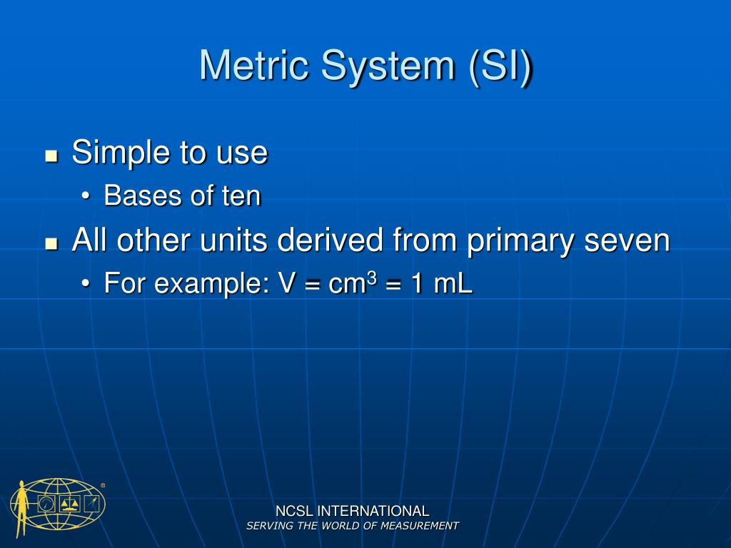 Metric System (SI)