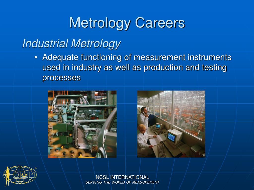Metrology Careers