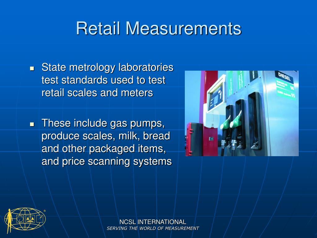 Retail Measurements