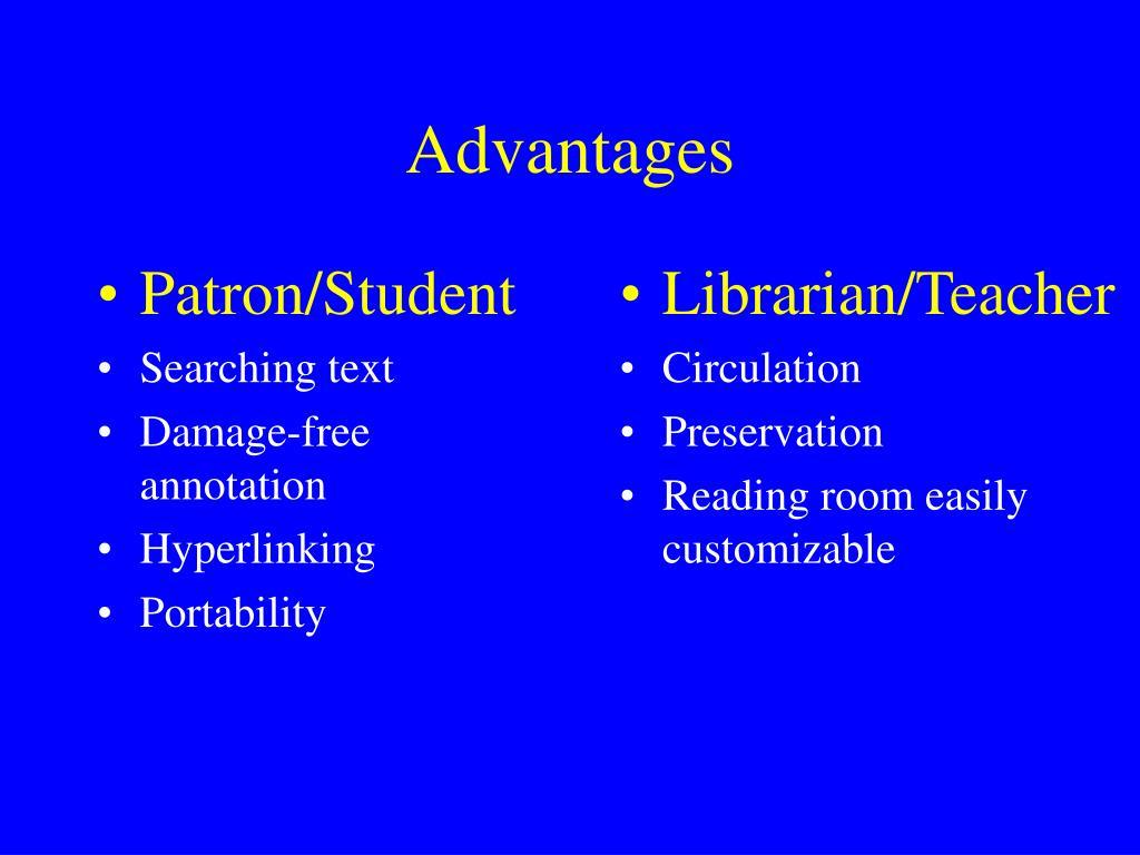 Patron/Student