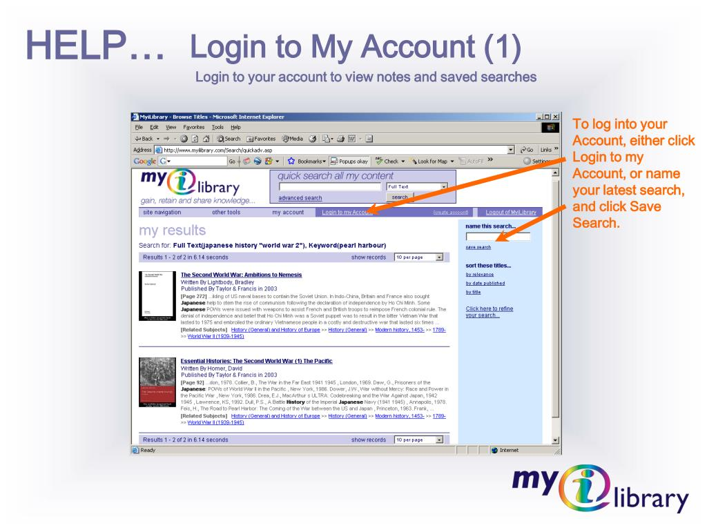Login to My Account (1)