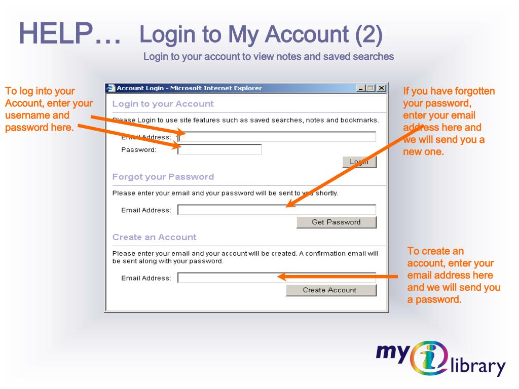 Login to My Account (2)
