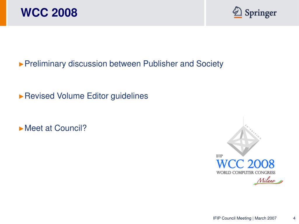 WCC 2008