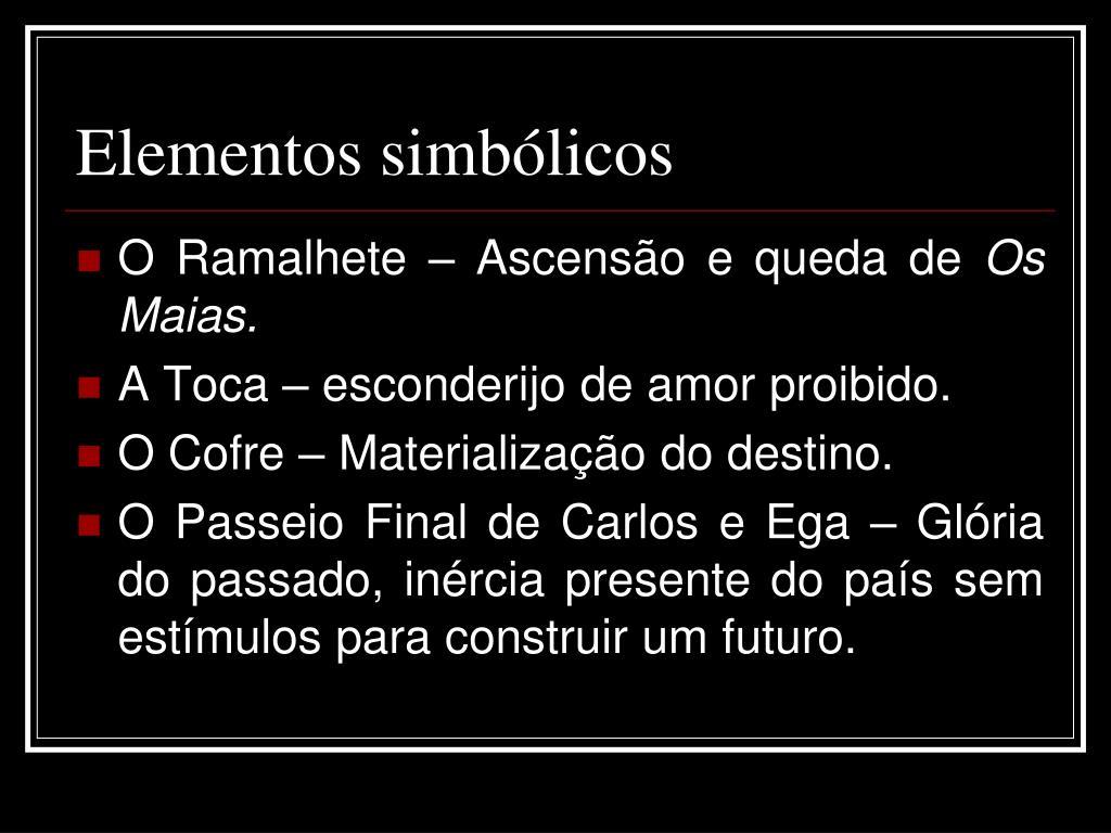 Elementos simbólicos