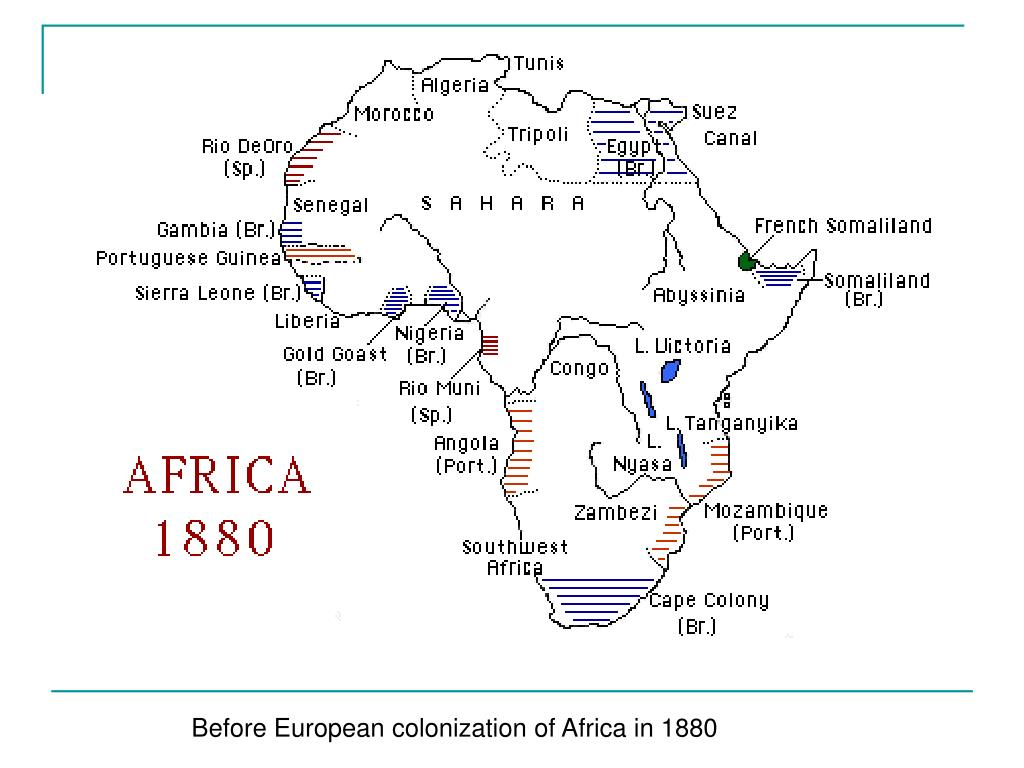 Before European colonization of Africa in 1880