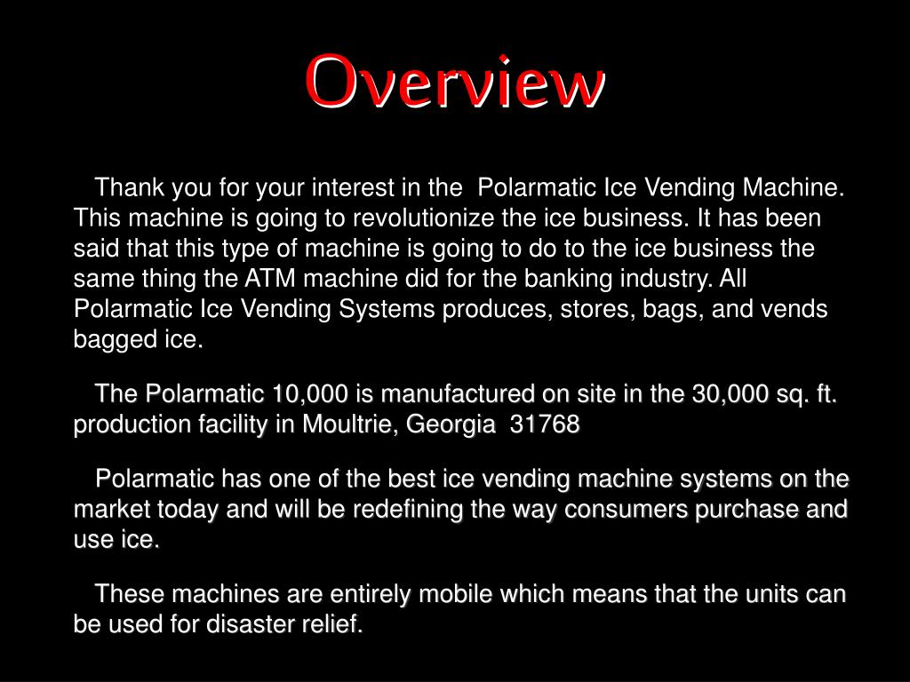 polarmatic machine