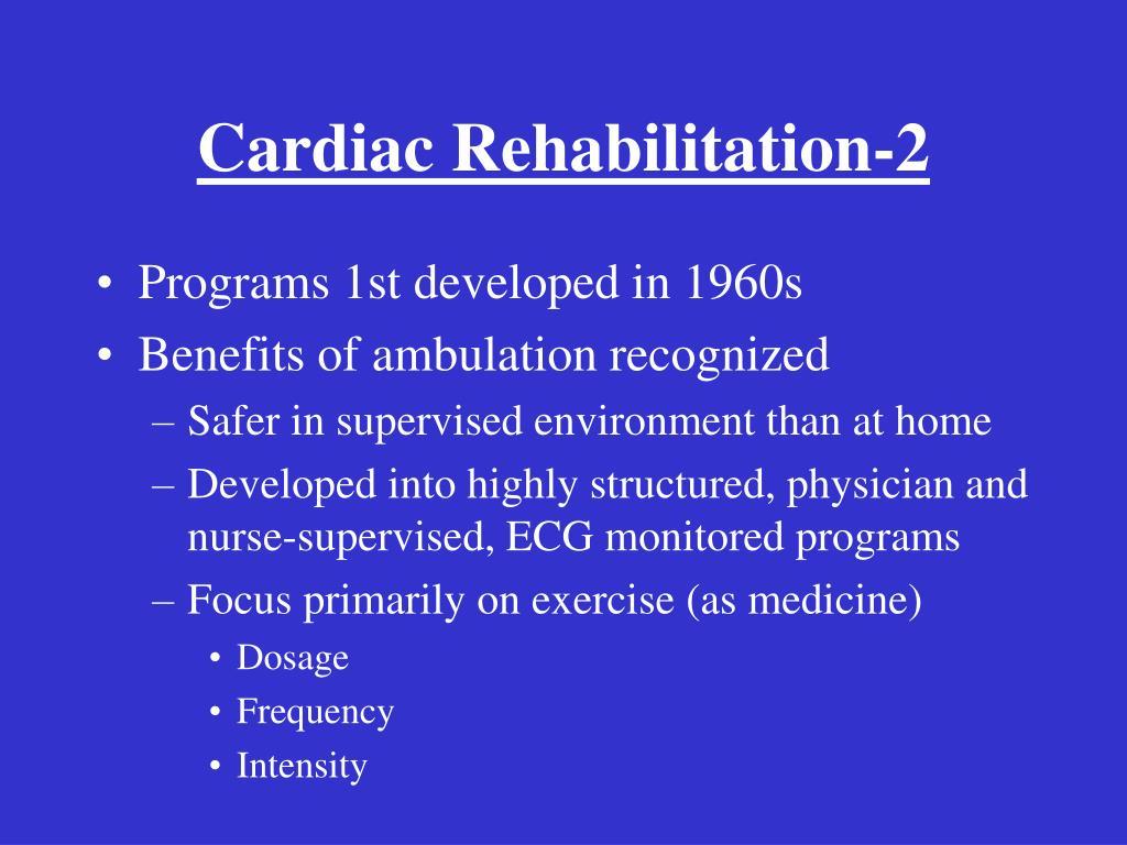 Cardiac Rehabilitation-2