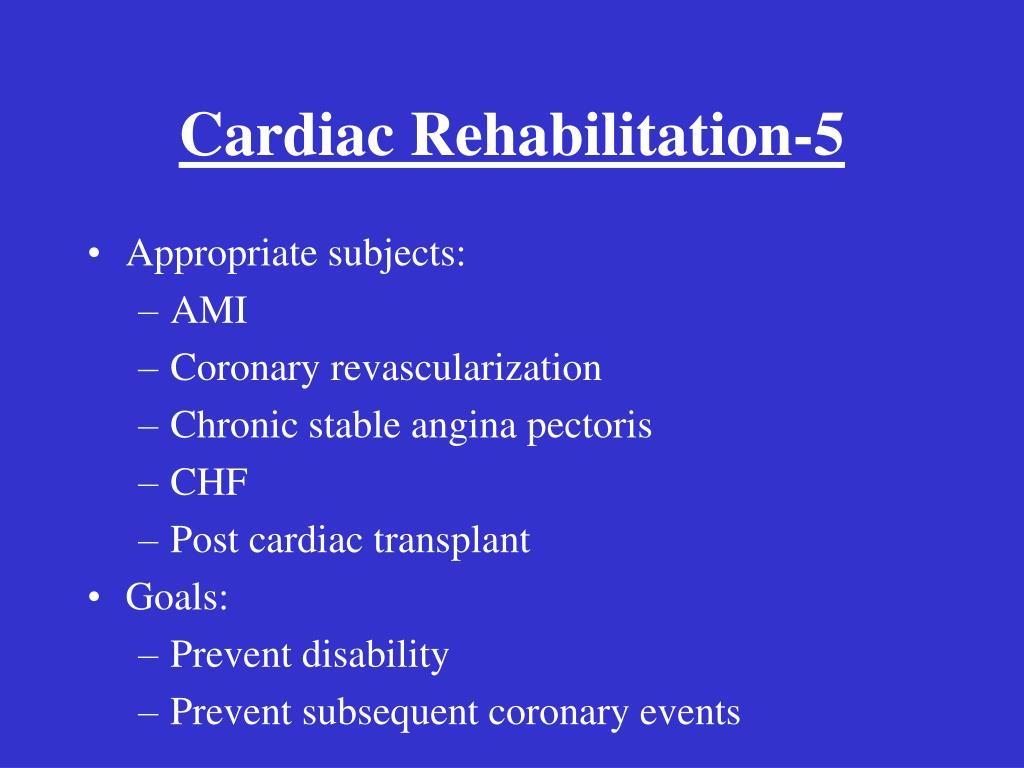 Cardiac Rehabilitation-5