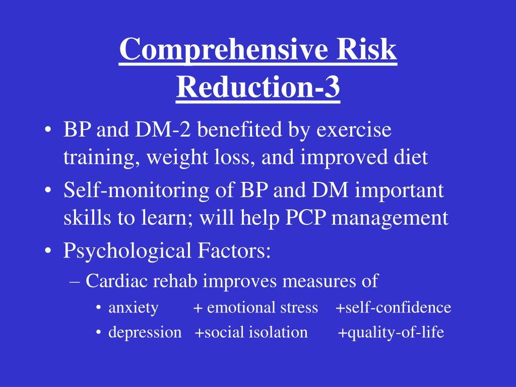 Comprehensive Risk Reduction-3