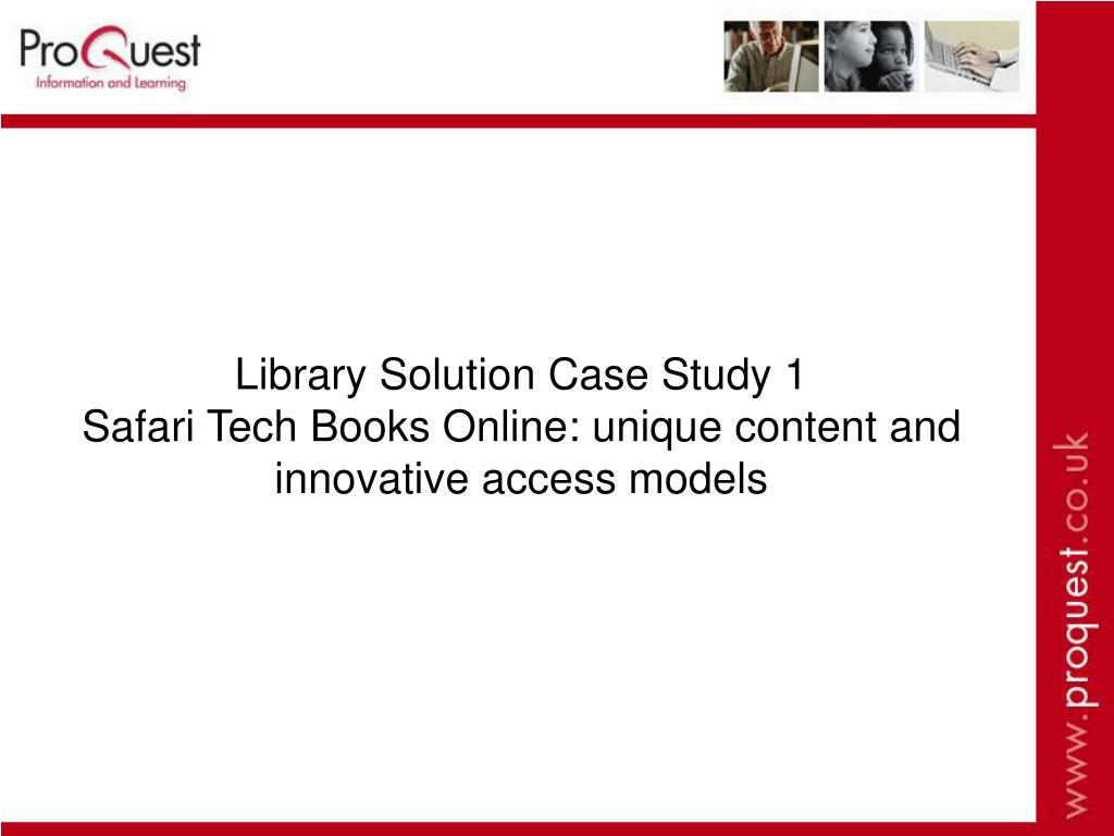 Library Solution Case Study 1