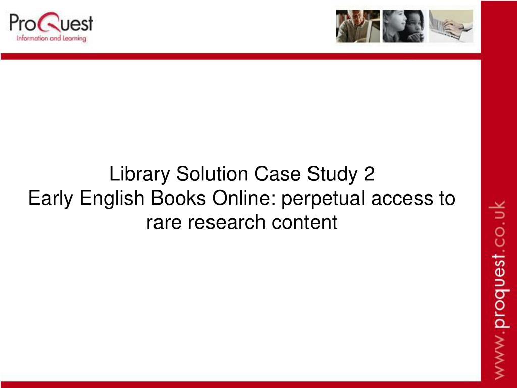 Library Solution Case Study 2