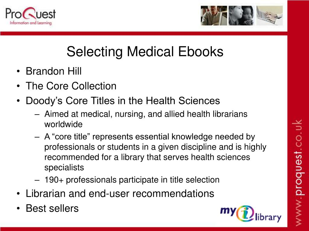 Selecting Medical Ebooks