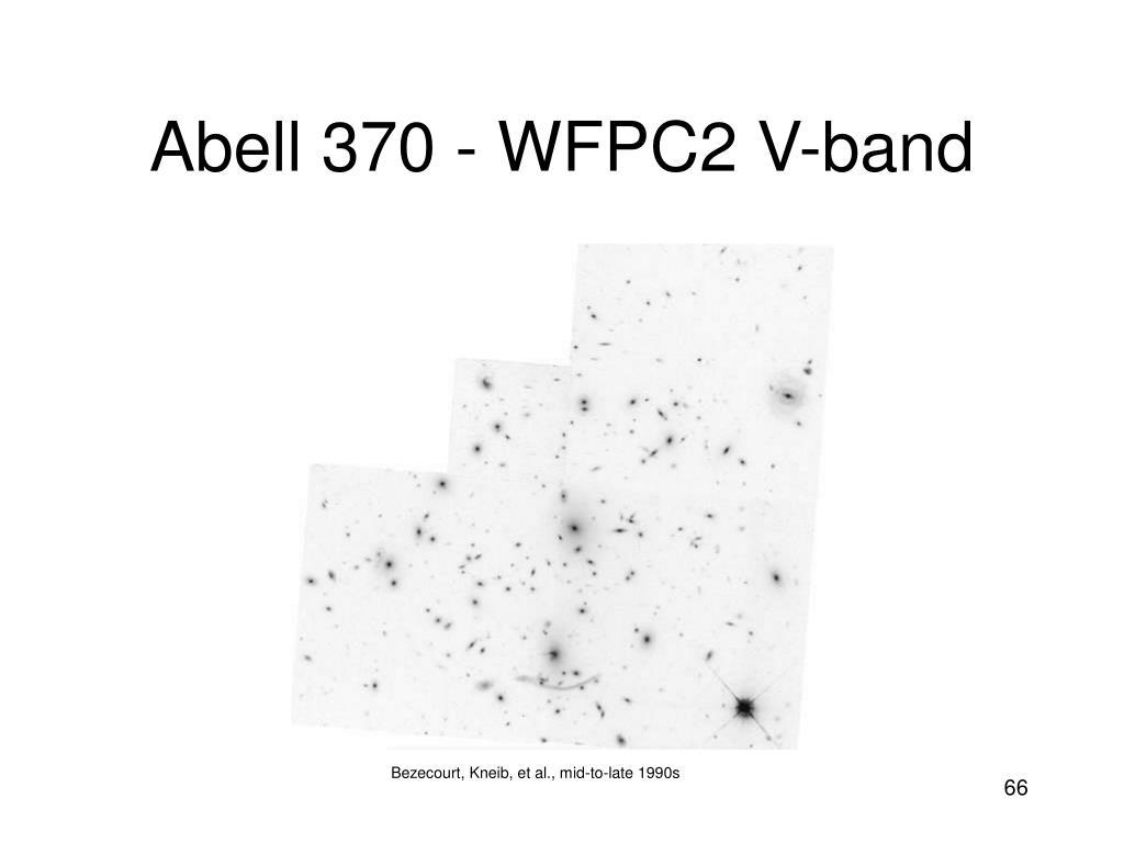 Abell 370 - WFPC2 V-band