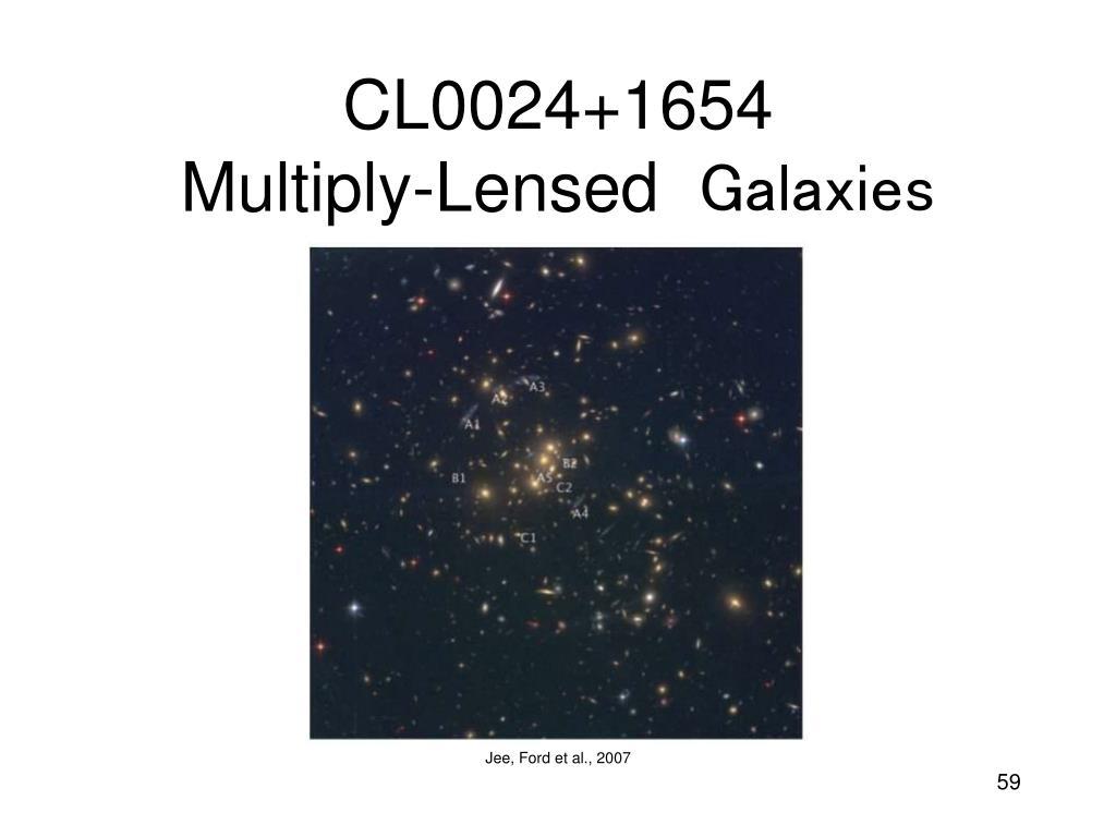 CL0024+1654             Multiply-Lensed