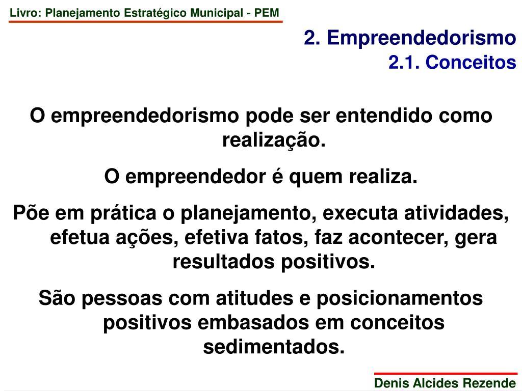 2. Empreendedorismo