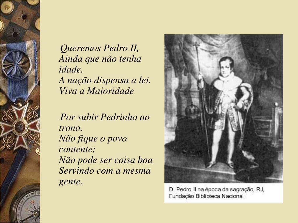 Queremos Pedro II,
