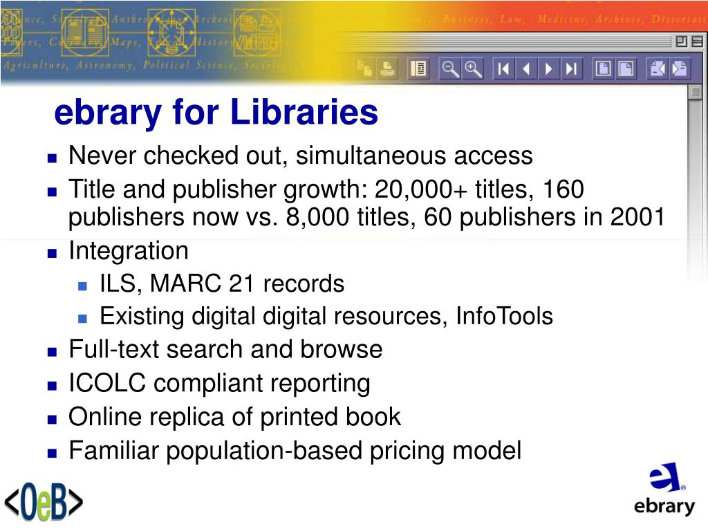 ebrary for Libraries