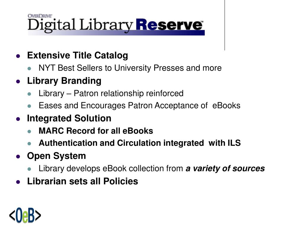 Extensive Title Catalog
