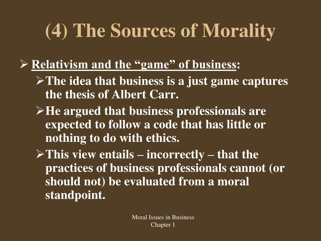 shaw morality and ethical relativism Business ethics by shaw test bank a+ graded  ethical relativism supports the theory that a what is morally right  morality is relative to the goal of.