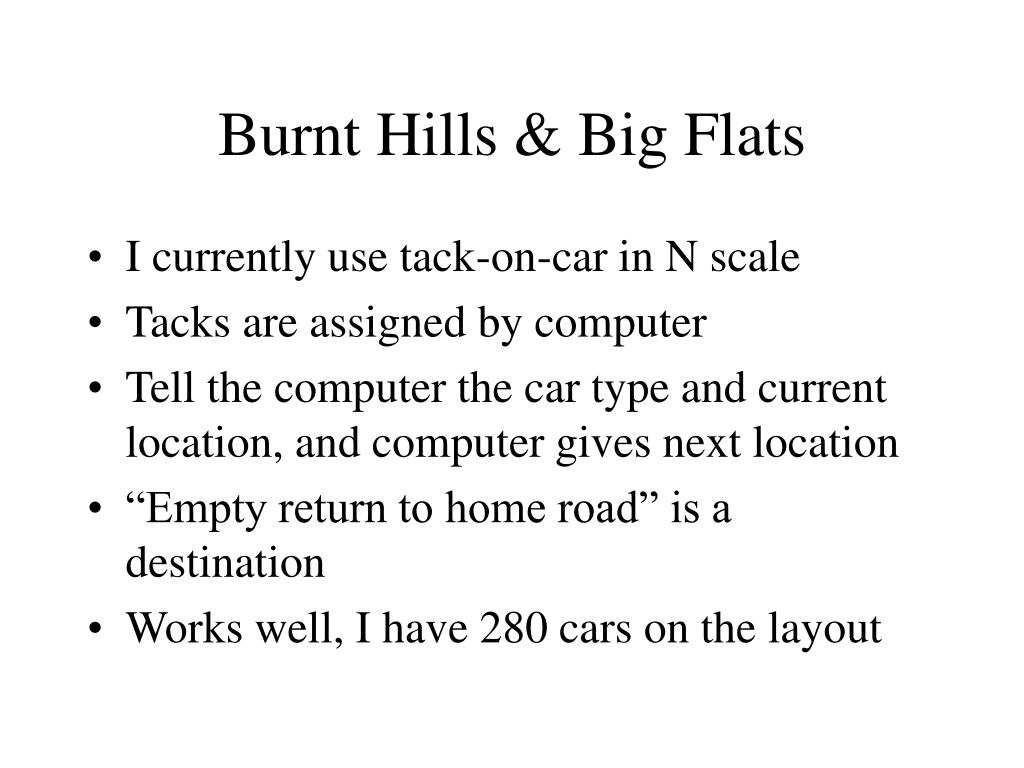 Burnt Hills & Big Flats