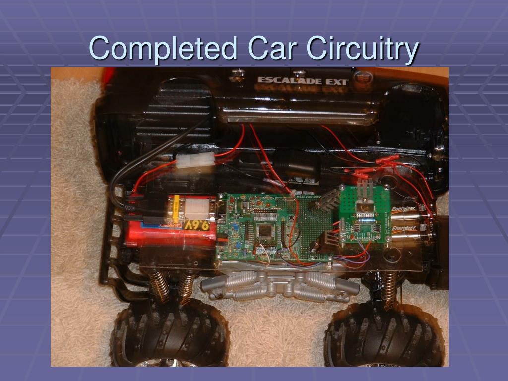 Completed Car Circuitry