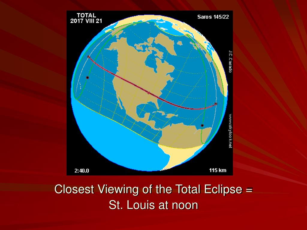 Closest Viewing of the Total Eclipse =