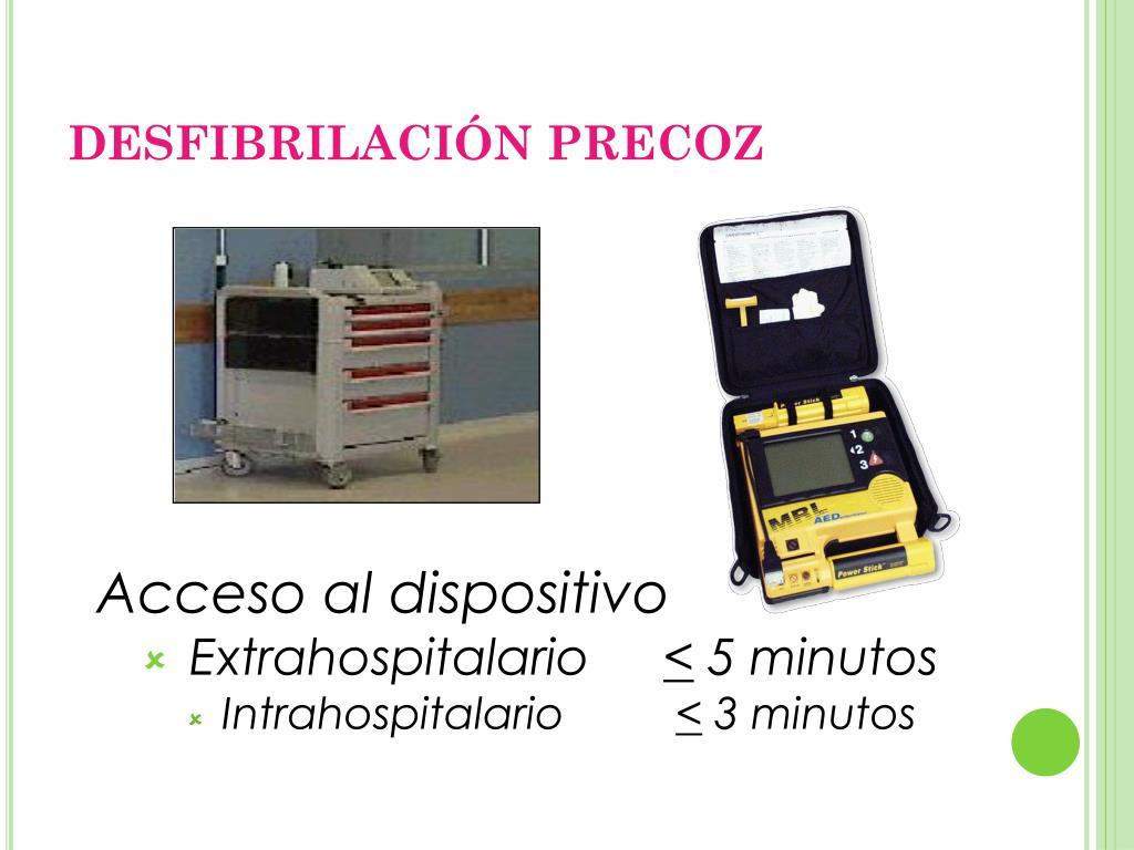 DESFIBRILACIÓN PRECOZ