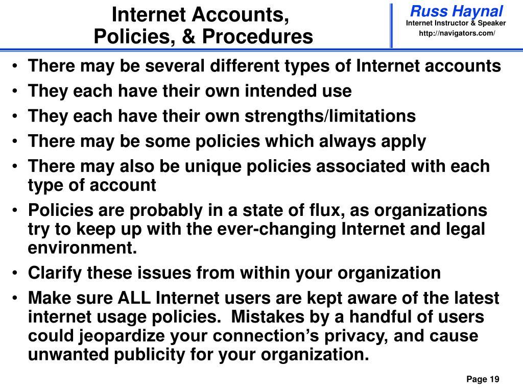 Internet Accounts,