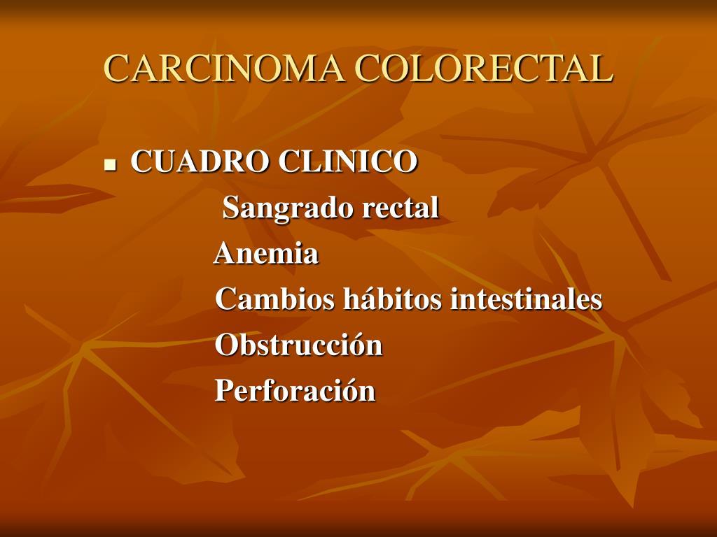 CARCINOMA COLORECTAL