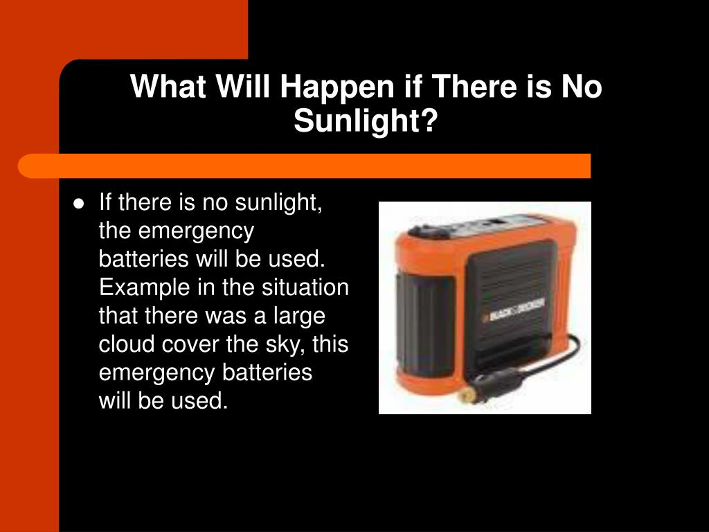 What Will Happen if There is No Sunlight?