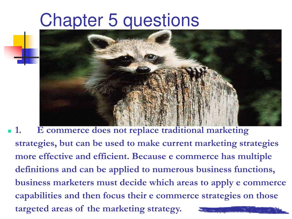 Chapter 5 questions