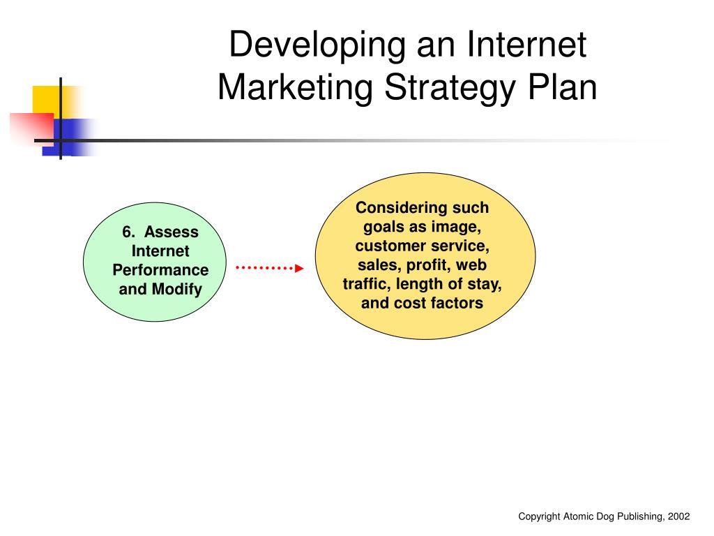 Developing an Internet Marketing Strategy Plan