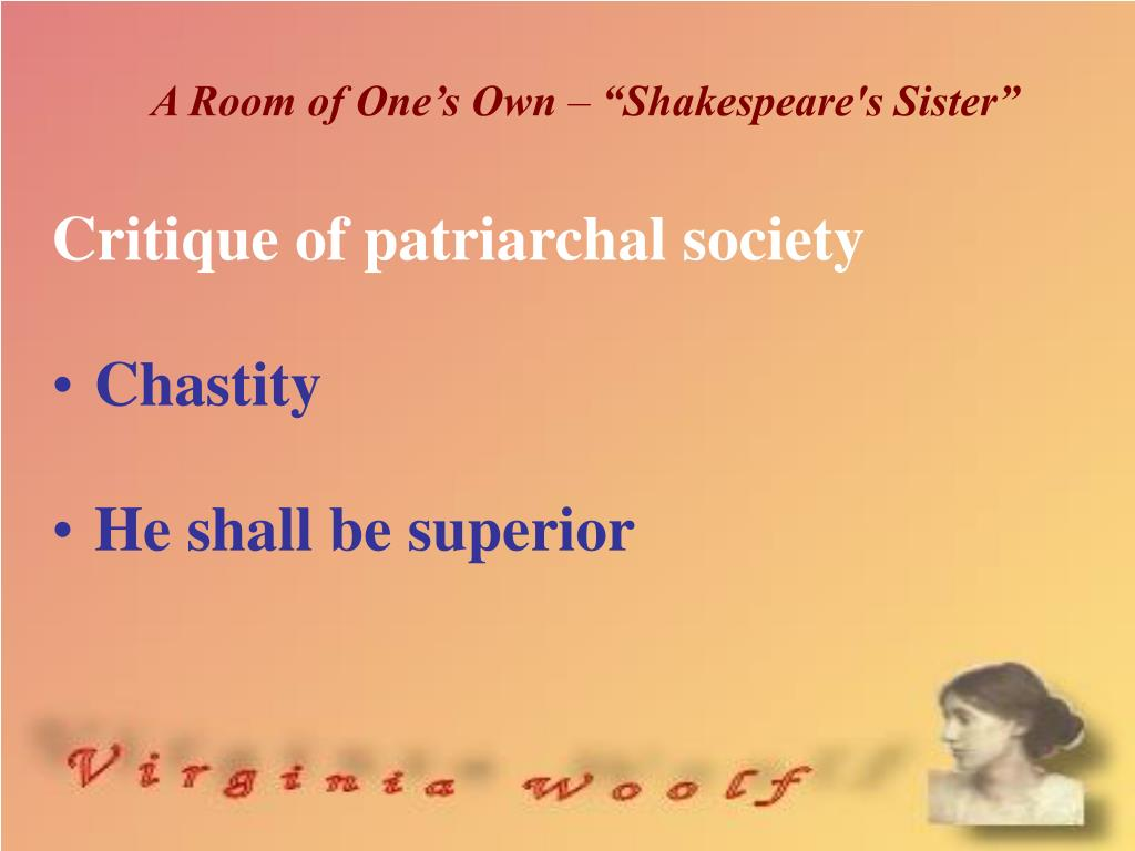 Shakespeare S Sister From A Room Of One S Own
