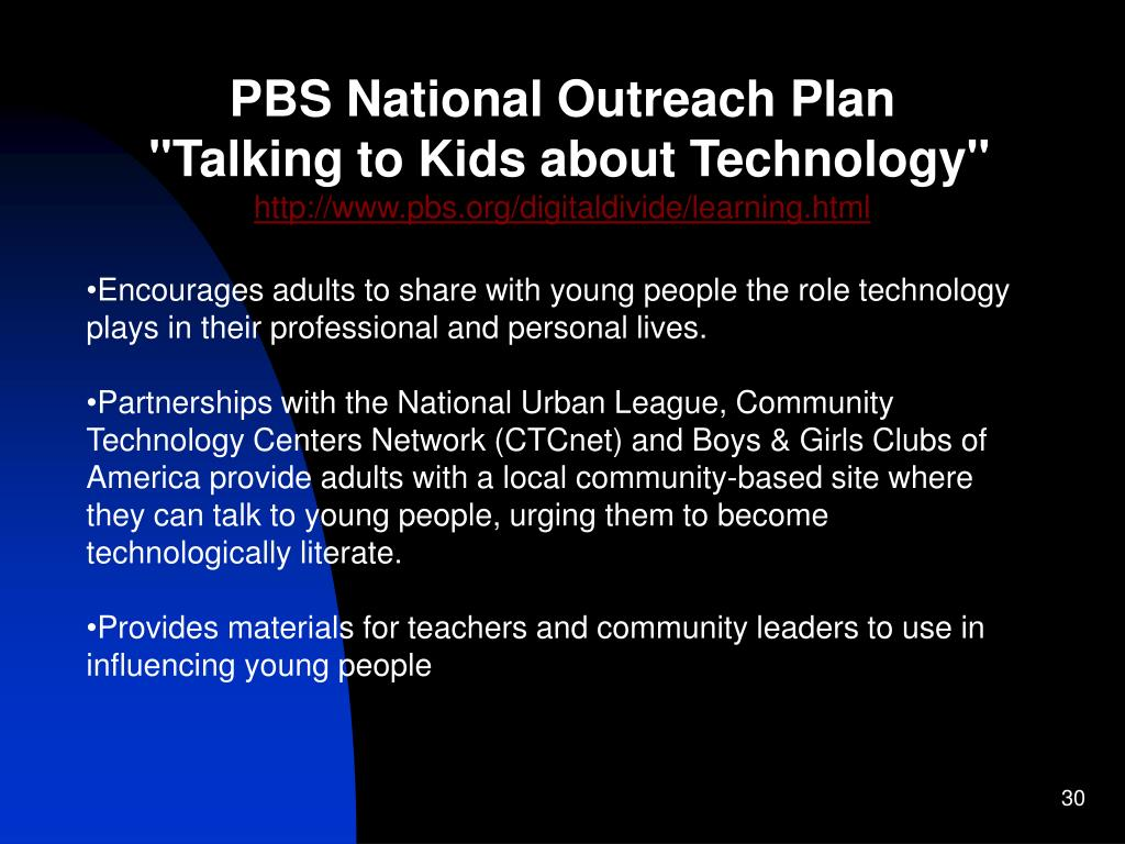 PBS National Outreach Plan