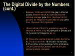 the digital divide by the numbers cont7