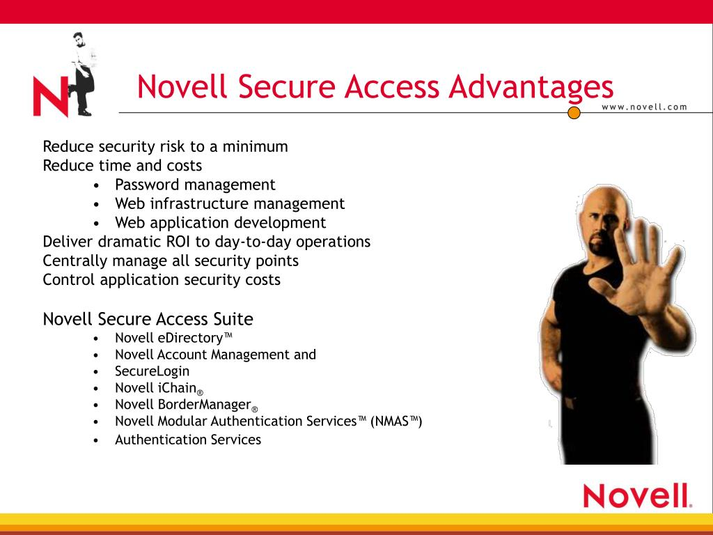 Novell Secure Access Advantages