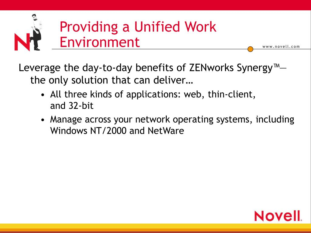 Providing a Unified Work Environment
