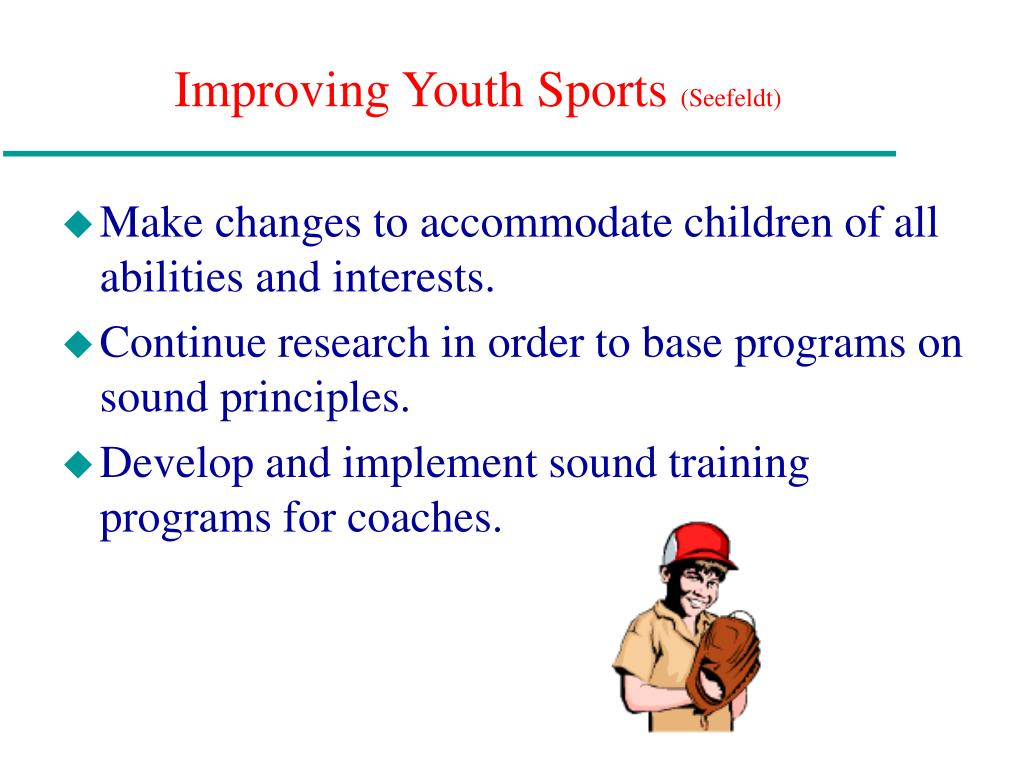 Improving Youth Sports