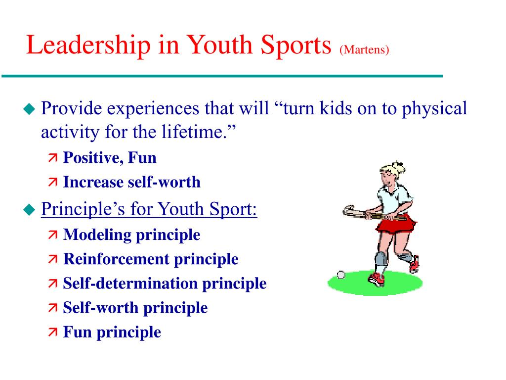 Leadership in Youth Sports