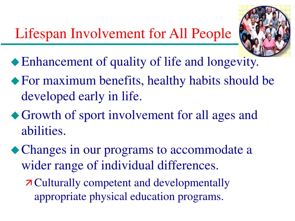 Lifespan Involvement for All People