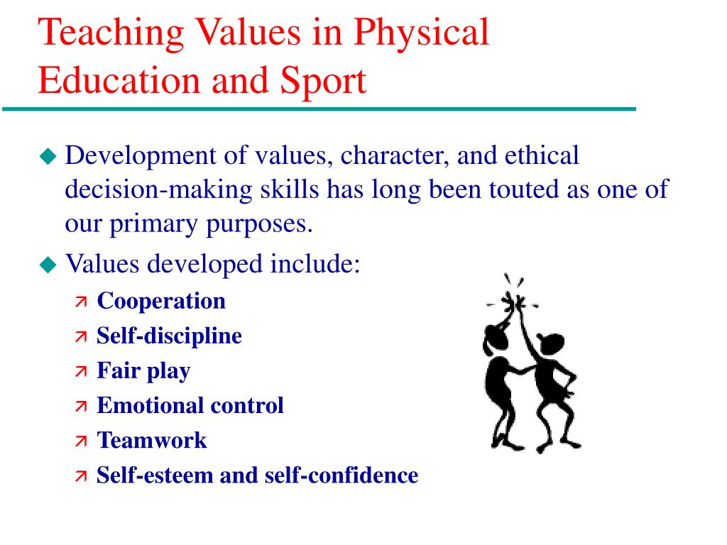 Teaching Values in Physical Education and Sport