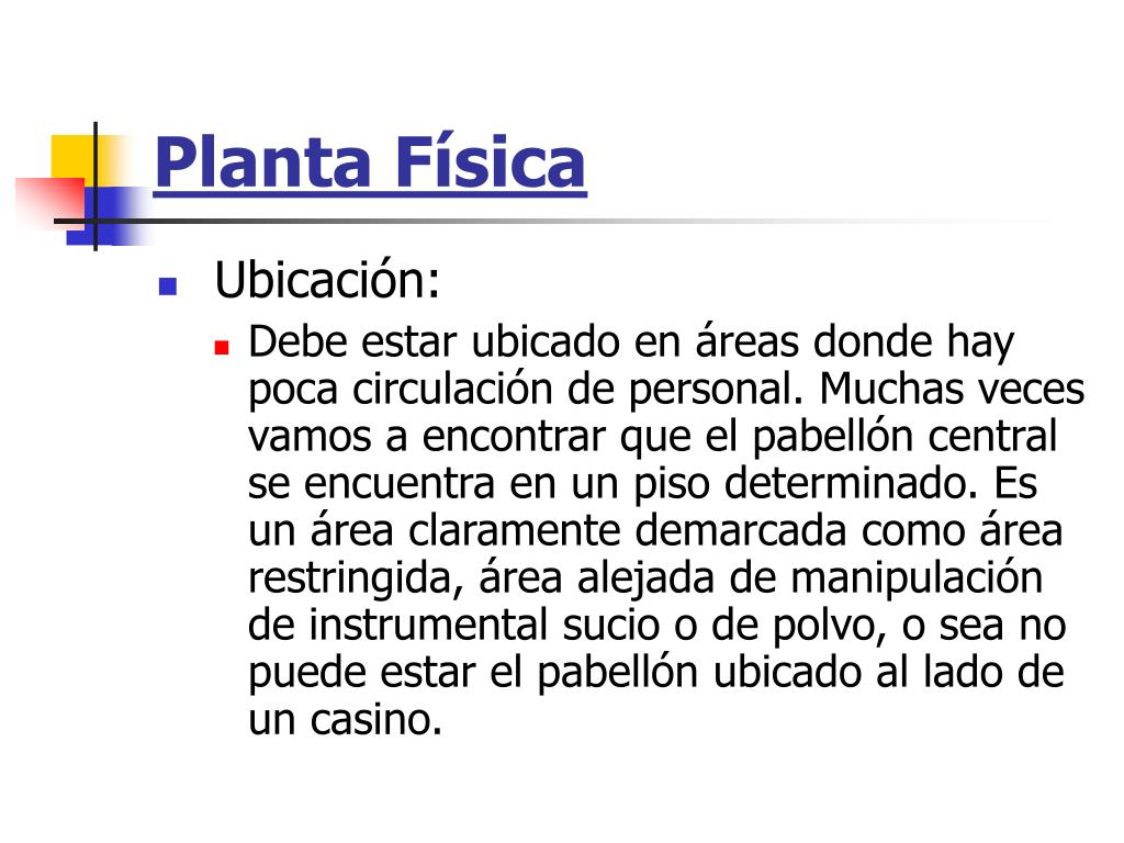 Planta Física