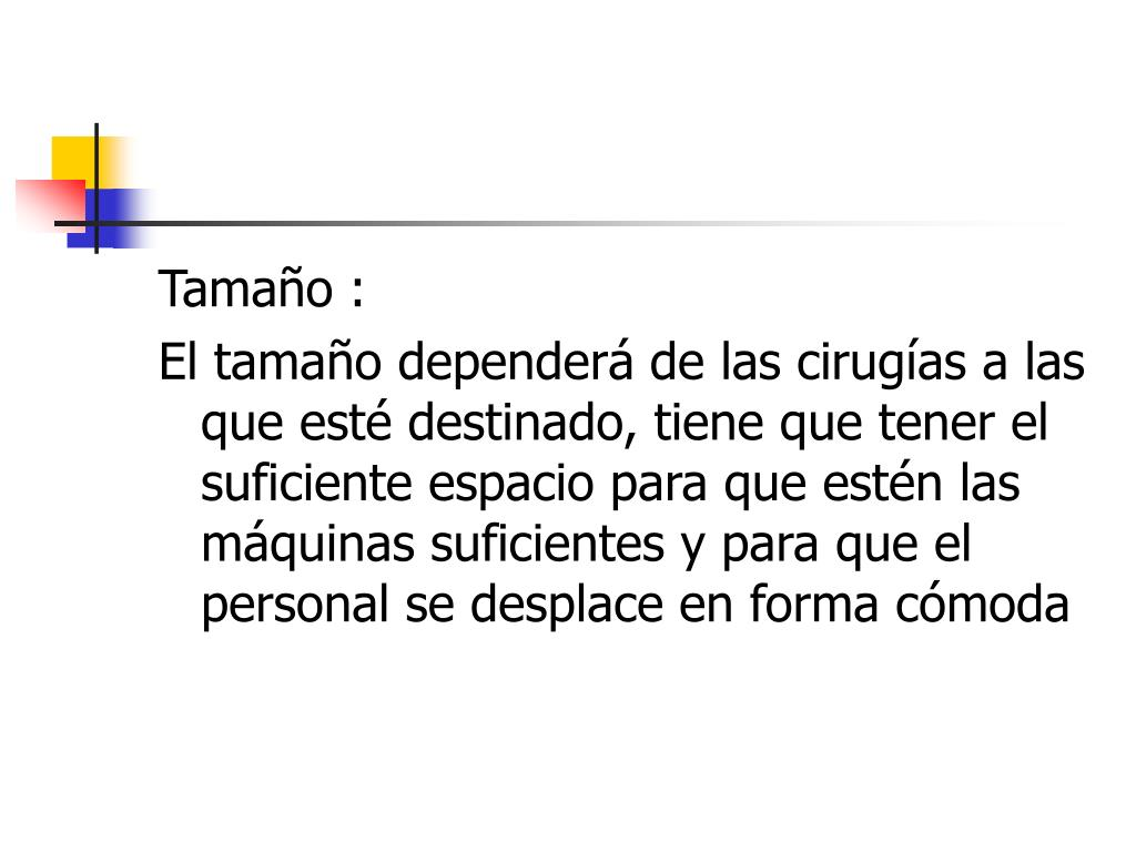 Tamaño :