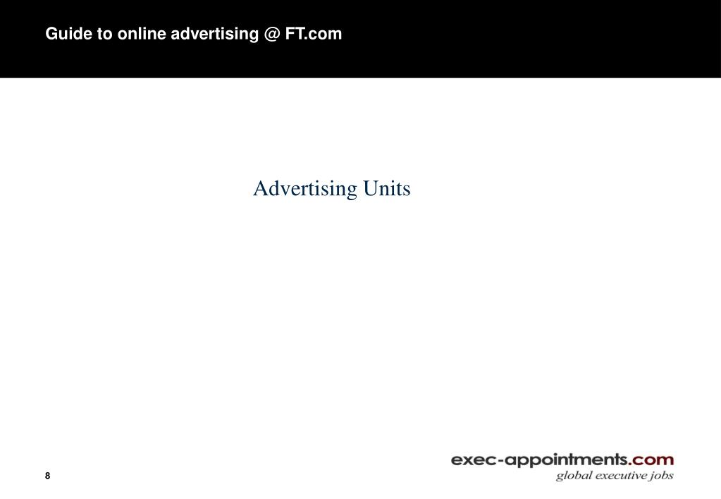 Guide to online advertising @ FT.com