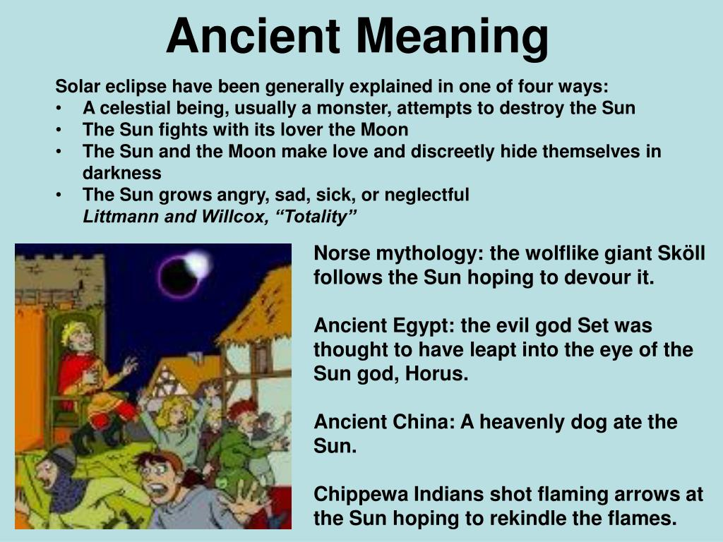 Ancient Meaning