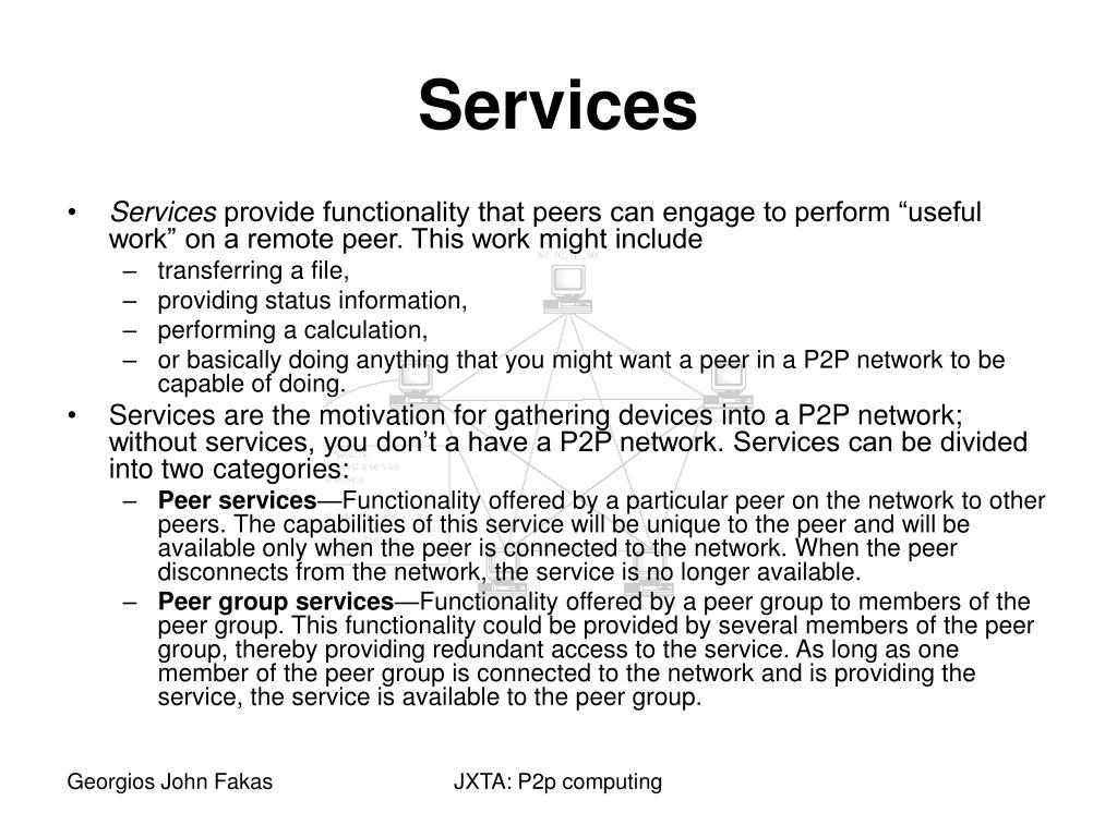 Services